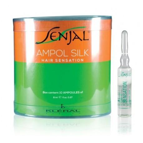 KLERAL SENJAL AMPOL SILK Двухфазные ампулы для восстановления волос 10*10 мл