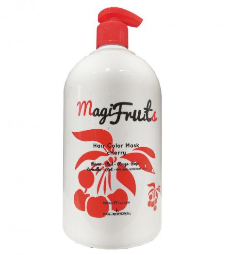 Маска KLERAL Magifruit Color mask cherry с пигментом КРАСНАЯ с экстрактом вишни 1000 мл