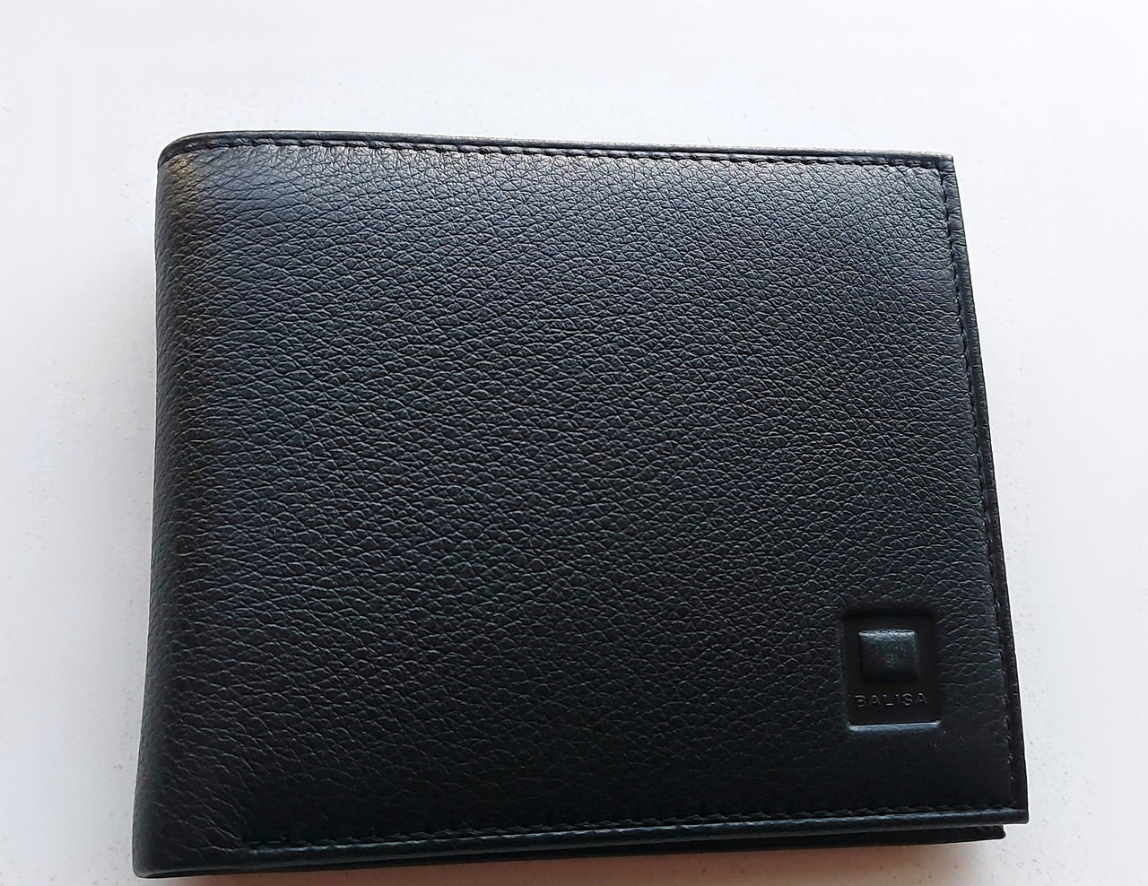 Мужское кожаное портмоне BA 6-10 black, купить мужское портмоне Balisa недорого в Украине