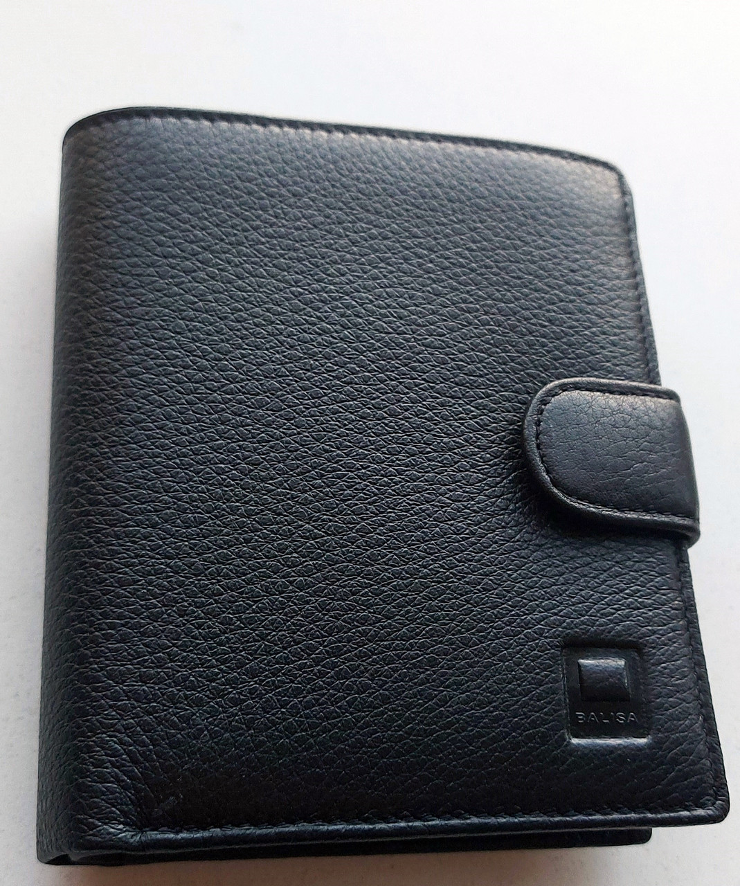 Мужское кожаное портмоне BA 6-18 black, купить мужское портмоне Balisa недорого в Украине