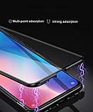 Магнитный металл чехол FULL GLASS 360° для Xiaomi Redmi 9A, фото 3