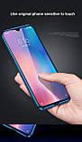 Магнитный металл чехол FULL GLASS 360° для Xiaomi Redmi 9A, фото 4