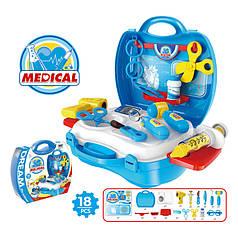 Игровой набор доктор в чемодане Bowa 8355