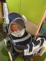 Коляска для кукол DeCuevas серии Романтик 80225, фото 3