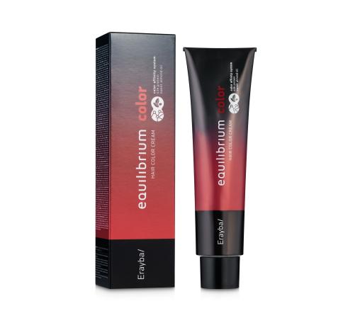 Крем-краска для волос 1/80 фиолетово- черный Erayba Equilibrium Hair Color Cream120 мл