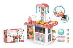 Детская большая музыкальная кухня с водой Bambi 889-63-64 розовая
