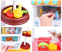 Игровая интерактивная детская большая кухня с водой высота 72 см Mega Kitchen 889-183, фото 2