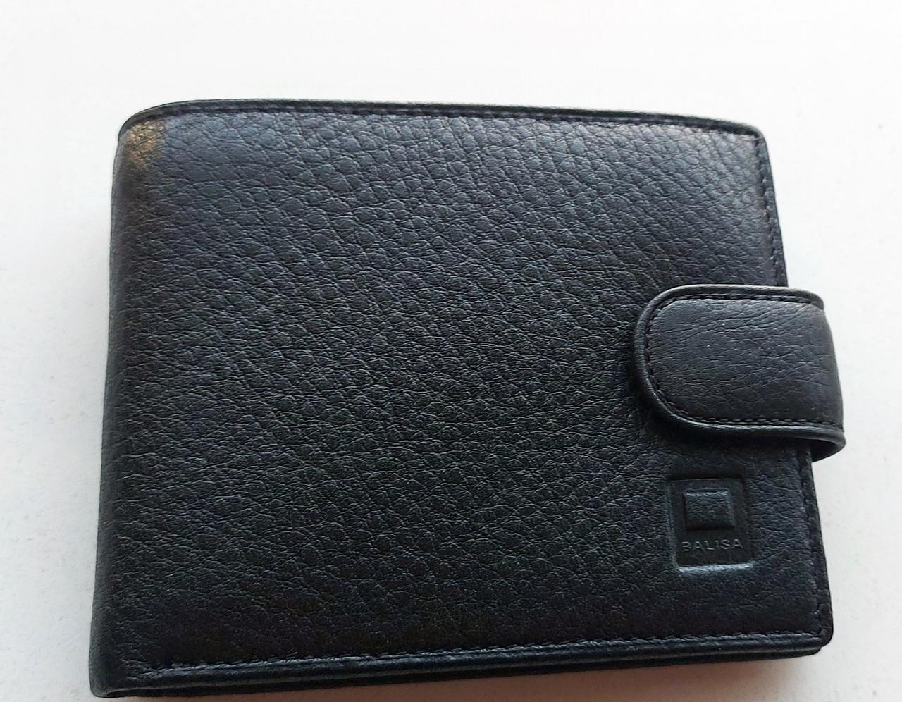 Мужское кожаное портмоне BA 6-25 black, купить мужское портмоне Balisa недорого в Украине