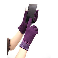 Женские зимние теплые Touch Screen варежки перчатки рукавицы рукавички