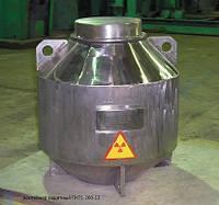 Контейнеры для транспортировки и хранения радиоактивных источников с ионизирующим и нейтронным излуч