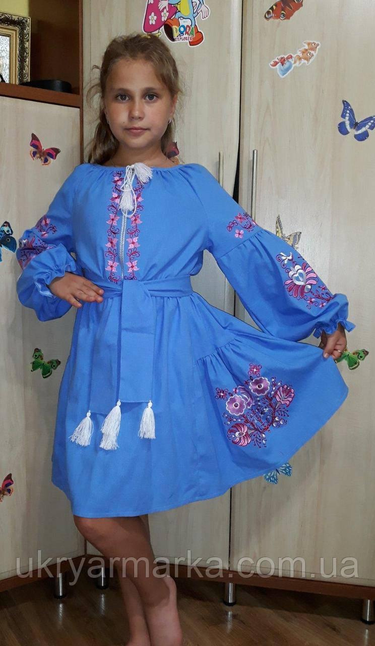 """Плаття для дівчинки """"Лотос"""""""