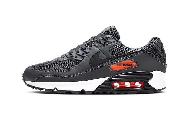 Кроссовки Nike Air Max 90 Essential Iron Gray серые мужские
