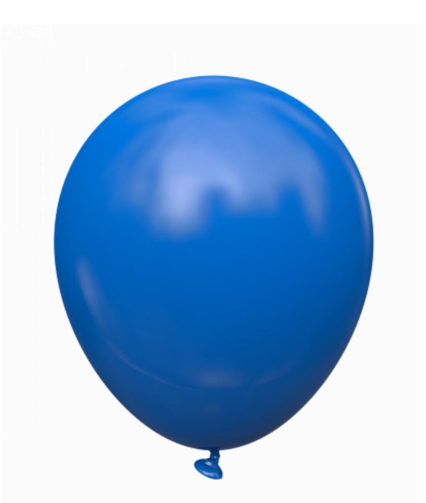 Воздушные латексные шары Синие.пр-во Kalisan(Турция) 12'(30 см.) Упаковка 100 шт.