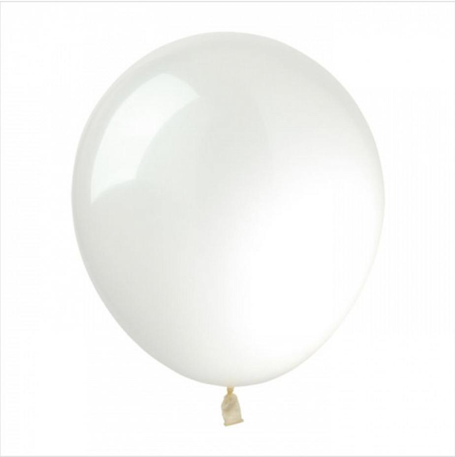 Воздушные латексные шары Прозрачный.пр-во Kalisan(Турция) 12'(30 см.) Упаковка 100 шт.