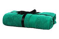 Набір рушник EURO SET Dark Green зелений 100*150 1шт. 500г/м2