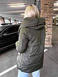Качественная женская теплая куртка! Утеплена силиконом-250. Размеры: С,М,L, фото 2