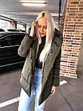 Качественная женская теплая куртка! Утеплена силиконом-250. Размеры: С,М,L, фото 6