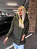 Качественная женская теплая куртка! Утеплена силиконом-250. Размеры: С,М,L, фото 9