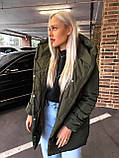 Качественная женская теплая куртка! Утеплена силиконом-250. Размеры: С,М,L, фото 10