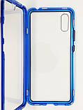 Магнитный металл чехол FULL GLASS 360° для Xiaomi Redmi 9A, фото 9