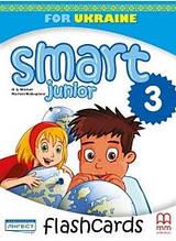 Картки Smart Junior for Ukraine 3 Flashcards НУШ Mitchell H.Q. MM Publications