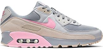 Кроссовки Nike Air Max 90 Vast Grey Pink женские