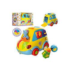 Автошка Joy Toy 9198 RU желтая