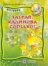 Заграй калинова сопілко Пісенник для учнів старших класів Качан В. Підручники і посібники