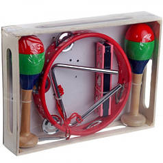 Деревянный Музыкальный набор Fun Toys 5513