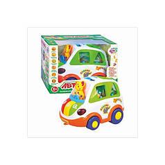Автошка Joy Toy 9198 RU белая