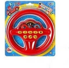 Руль Limo Toy 7039 красный