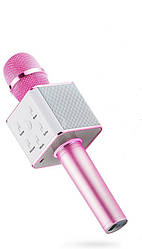Микрофон Metr+ Q7 розовый