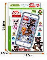Детский Телефон Metr+ DT 033A/033F кот Том