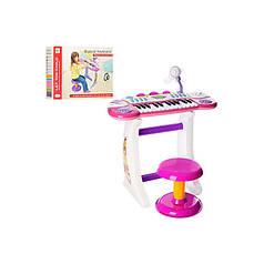 Синтезатор Joy Toy BBB33 розовый