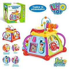 Детский развивающий музыкальный мультибокс игра Limo Toy 806