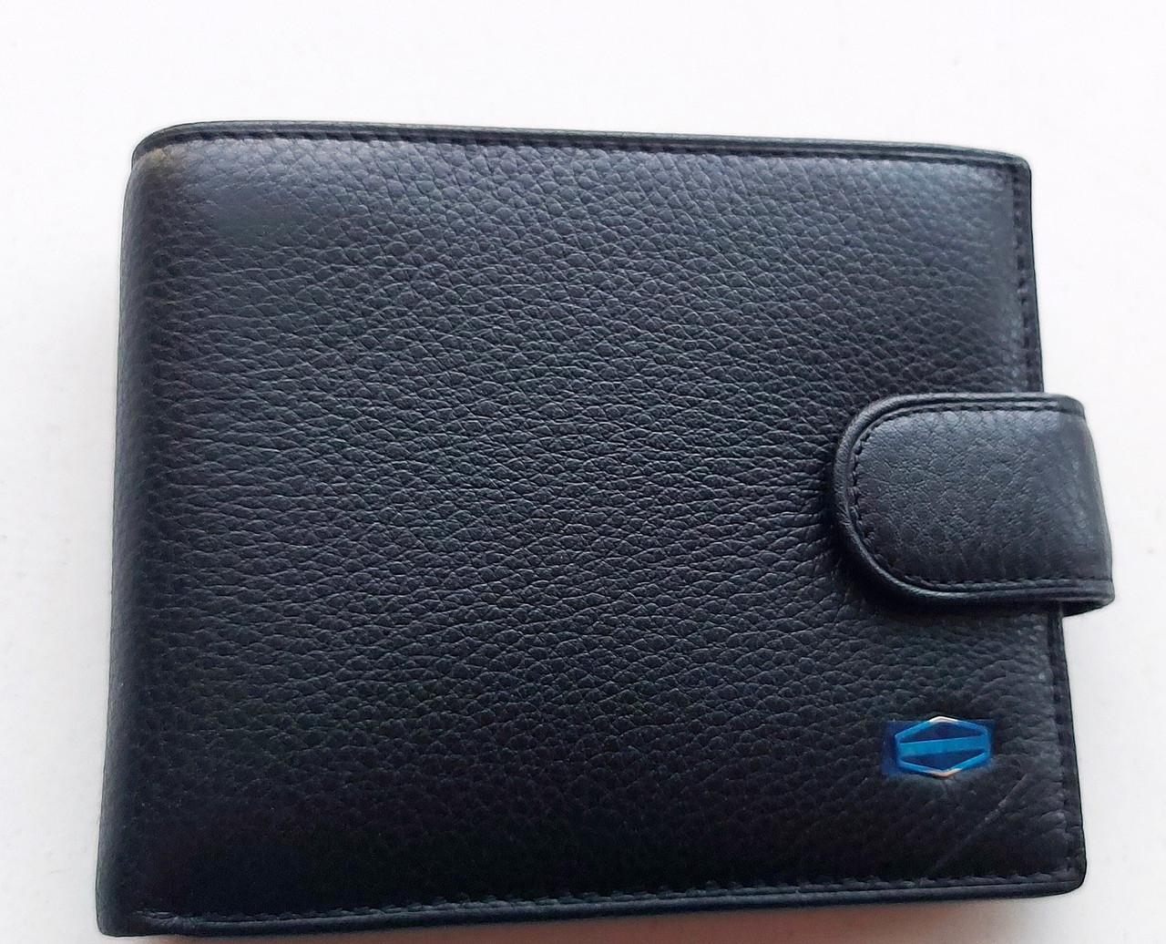 Мужское кожаное портмоне BA 2-25 black, купить мужское портмоне Balisa недорого в Украине