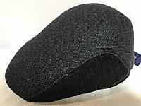 Мужская кепка реглан из драпа двухцветная с ушками 56-57 58 59