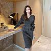 Красивый юбочный костюм с баской 42-44 (в расцветках), фото 8