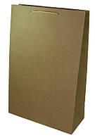 Пакет подарочный PVC304712 крафт с рисунком, вертикальный 30х47х12см 170г/м2 уп12
