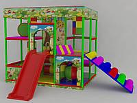 Детский игровой лабиринт 3х2х3 с мягкой лестницей, фото 1