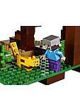 Конструктор Bela 10471 домик на дереве в джунглях Minecraft, фото 4