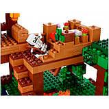 Конструктор Bela 10471 домик на дереве в джунглях Minecraft, фото 2