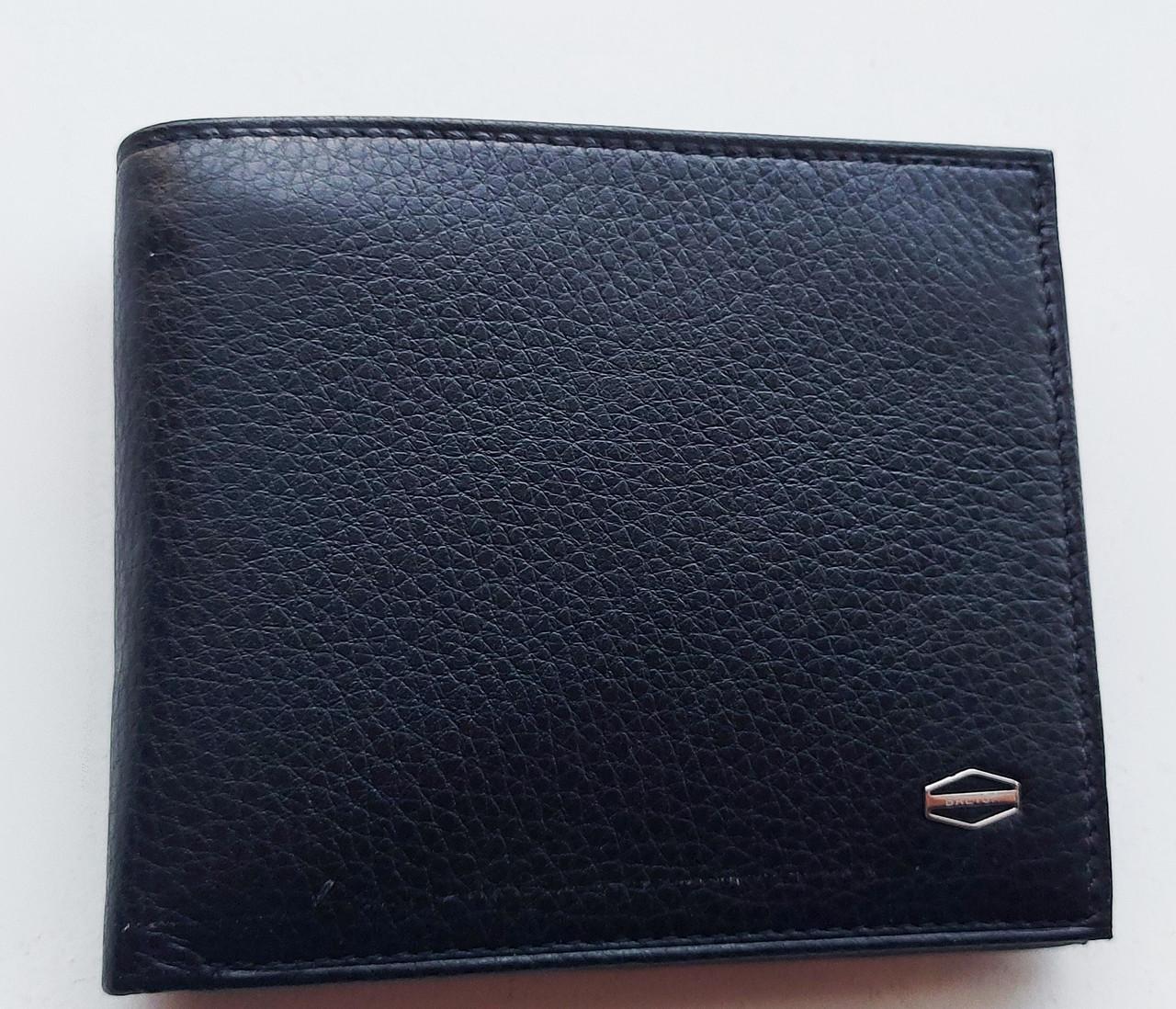 Мужское кожаное портмоне BA 2-10 black, купить мужское портмоне Balisa недорого в Украине