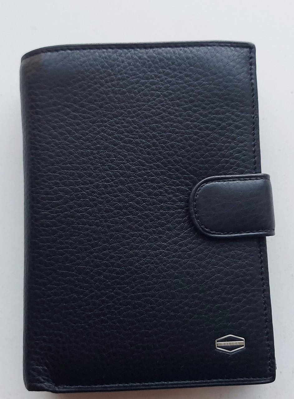 Мужское кожаное портмоне BA 2-21 black, купить мужское портмоне Balisa недорого в Украине