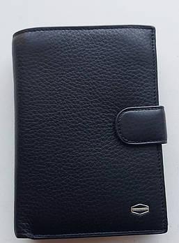 Чоловіче шкіряне портмоне BA 2-21 black, купити чоловіче портмоне Balisa недорого в Україні