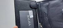 Мужское кожаное портмоне BA 2-21 black, купить мужское портмоне Balisa недорого в Украине, фото 4