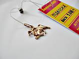 Золотой Кулон знак зодиака ОВЕН - 1.08 грамма ЗОЛОТО 585 пробы, фото 4