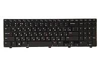 Клавиатура для ноутбука DELL Inspiron 15: 3521; Vostro: 2521 черный, черный фрейм