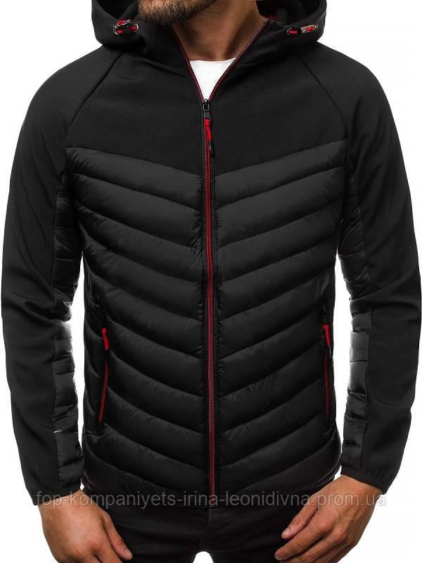 Куртка мужская  J.STYLE черная  XXL