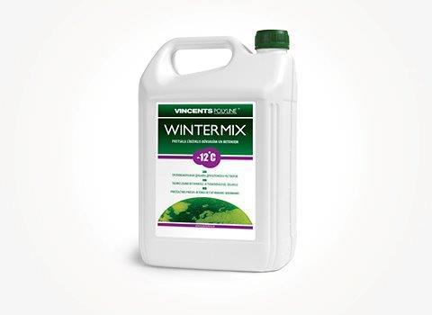 Средство против замерзания строительных растворов и бетона, Wintermix, 5 litre, Vincents Polyline